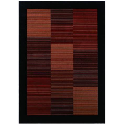 modern earthtone area rugs garland rug carnival stripe earthtone 5 ft x 7 ft area