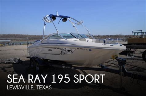 used sea ray boats for sale in texas for sale used 2010 sea ray 195 sport in lewisville texas