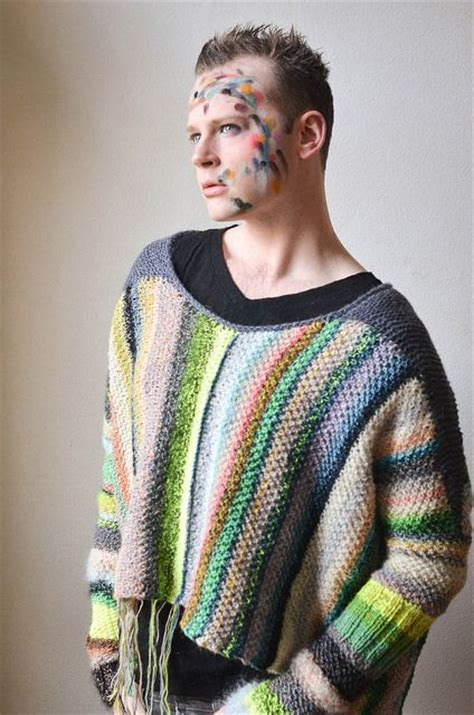 stephen west knits amazing technicolor dreamsweater pattern by stephen west
