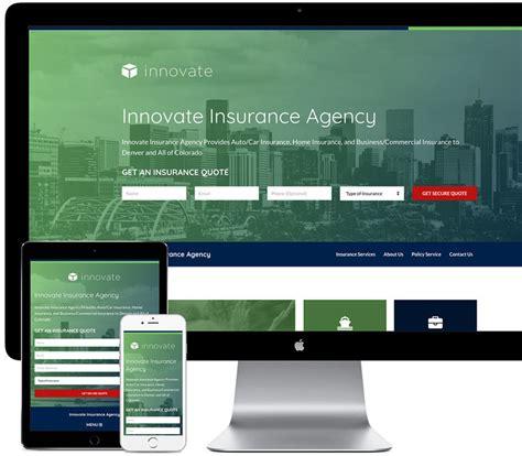 new insurance websites templates business template ideas