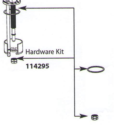 Moen Aberdeen Faucet Parts by Moen 114295 Aberdeen Replacement Hardware Kit