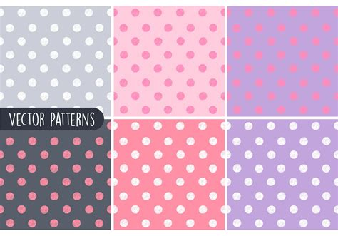 polka dot pattern eps free sketchy polka dot vector patterns download free vector