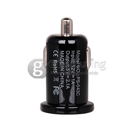 Charger Iphone 56 Dual Usb 21atravel Adapter Iphone 57 lention c218 12v mini dual ports usb car charger adapter