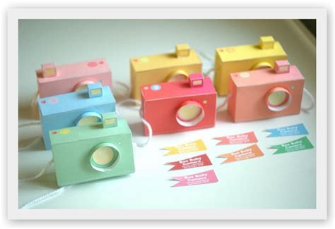 Box Baby Creative Baby etsy paper cameras total city the