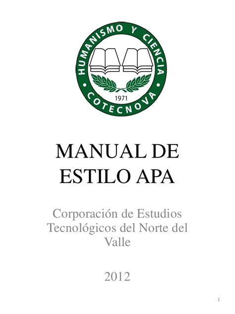 manual de estilo de 8497048628 manual de estilo apa