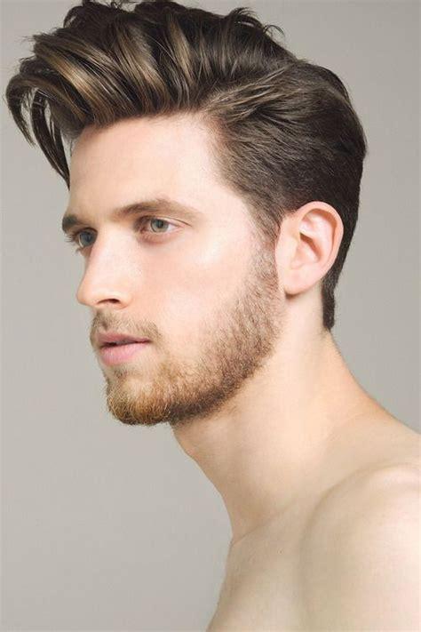 model gaya rambut pompadour pria terkini