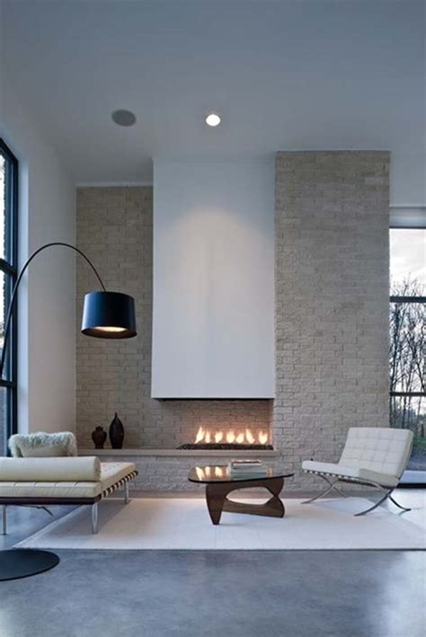 Minimalist Fireplaces by 27 Mesmerizing Minimalist Fireplace Ideas For Your Living Room