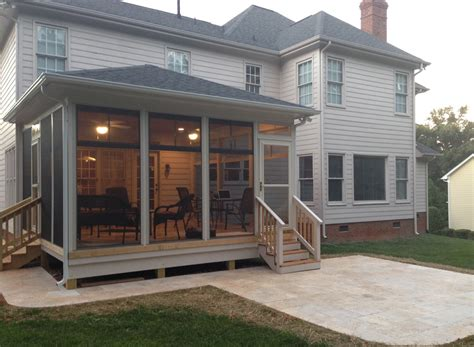 Adding Screened Porch To House - adding screen porch to ranch house