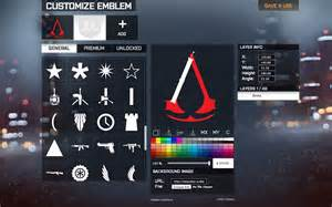 bf4 logo maker battlelog emblem editor extended chrome插件 battlelog