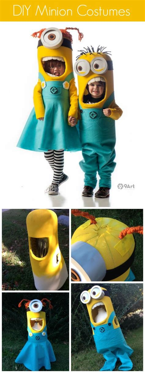 how to make a minion costume diy projects craft ideas diy costumes
