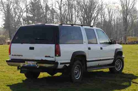 how things work cars 1994 gmc suburban 1500 electronic valve timing buy used 1994 white 4wd gmc suburban in yorkville illinois united states for us 1 750 00