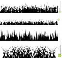 Grass vector set stock photos image 12962493