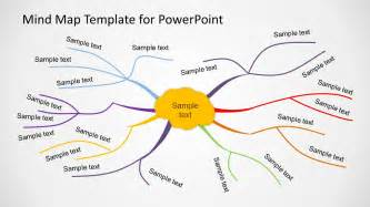 creative mind map template for powerpoint slidemodel