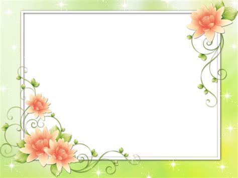 frame design flower syed imran flower frame pack png