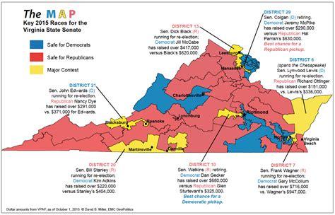 service virginia map of virginia election districts afputra