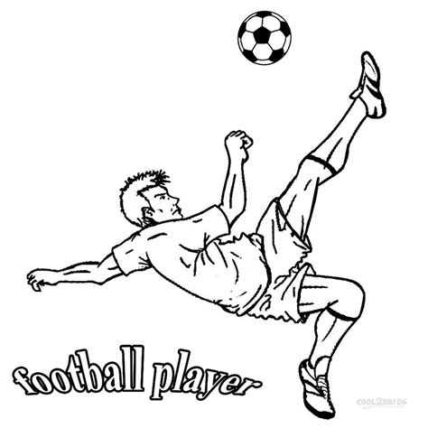 coloring pages sports football printable football player coloring pages for kids cool2bkids
