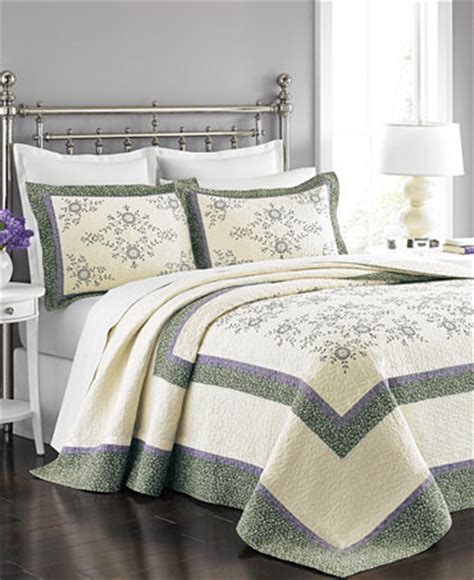 Bedspreads Only Martha Stewart Collection Valencia Eyelet Bedspread