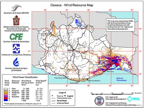 resource map of mexico wind energy country analyses mexico energypedia info