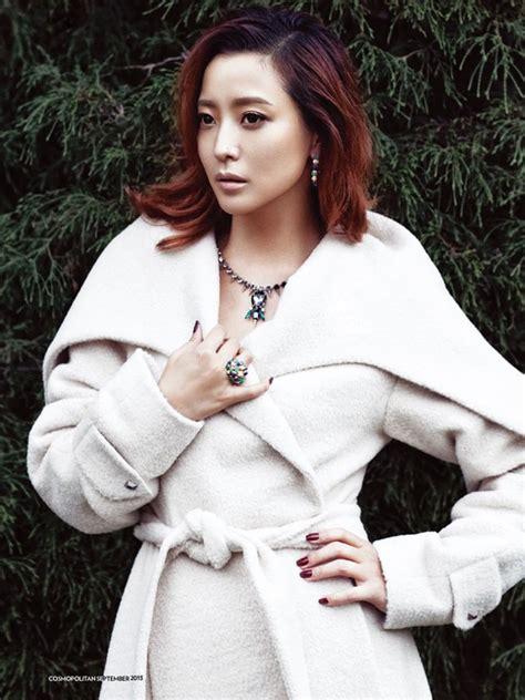 foto hee sun di majalah cosmopolitan edisi september