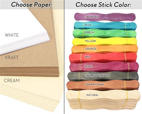 wedding program fans kit wedding program fan kit warm color choices at craftysticks