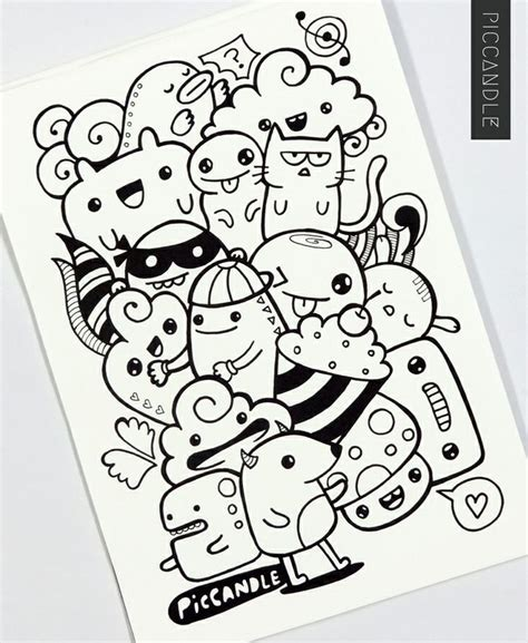 doodle and drawing best 25 kawaii doodles ideas on kawaii