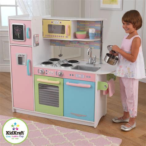 Kidkraft Uptown Pastel Kitchen by Kidkraft Uptown Pastel Kitchen 53257 Pirum
