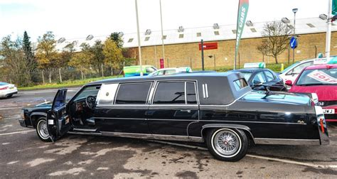 New Limousine Car by Donald S Former Blingy Cadillac Limo Selling For A