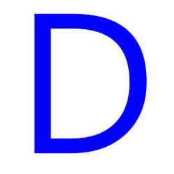 d color free blue letter d icon blue letter d icon