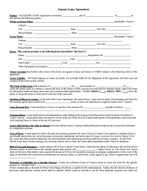 printable horse lease agreement horse lease agreement template best image konpax 2017