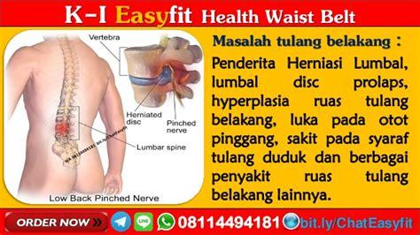 Terapi Syaraf Kejepit Di Pinggang Easyfit Waist Belt 1 k i easyfit health waist belt k link di asahan