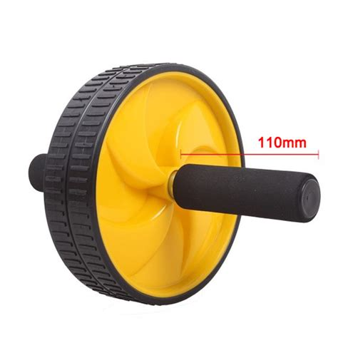 Ab Wheel Roller Exercise Alat Olah Raga Fitness alat fitness wheel roller jakartanotebook