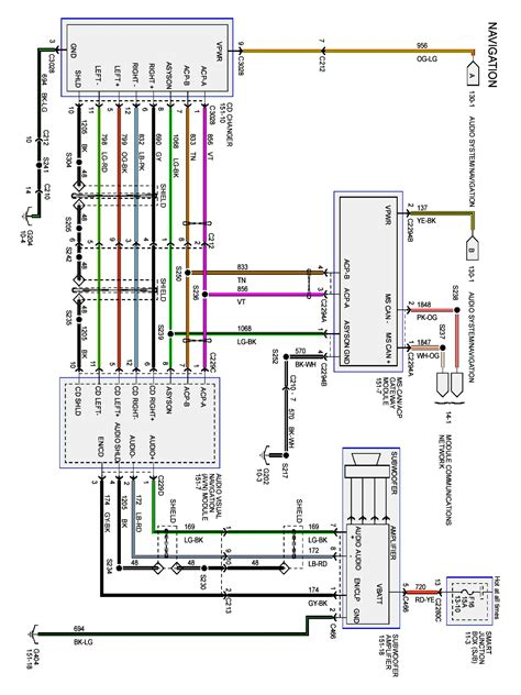 2006 ford fusion radio wiring diagram wiring diagram