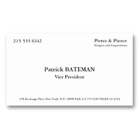 american psycho business card template 156 0 best american psycho images on ha ha