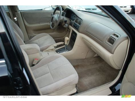 beige interior 2000 mazda 626 lx photo 52579925