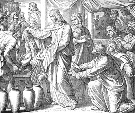 Hochzeit Zu Kana by Die Bibel In Bildern Julius Schnorr Carolsfeld