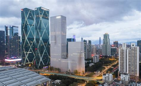bigs shenzhen energy mansion completes  china wallpaper