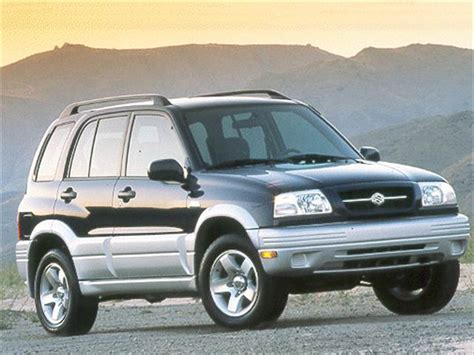 Suzuki Grand Vitara Fuel Economy Most Fuel Efficient Suvs Of 2000 Kelley Blue Book