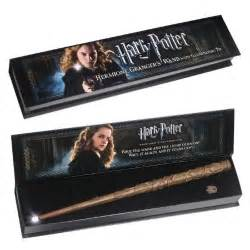 baguette magique hermione granger lumos noble collection