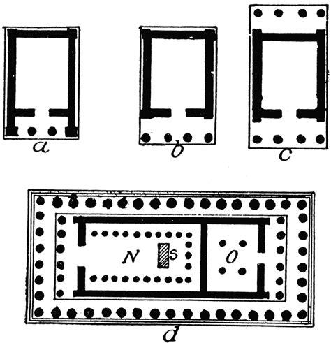 greek temple floor plan greek temple floor plan types of greek temple plans clipart etc