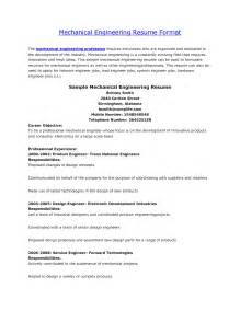 Mep Engineer Resume Sample engineer resume format for mechanical engineer resume template