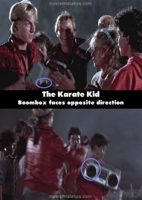 film quotes karate kid the karate kid 1984 movie mistake picture id 4418