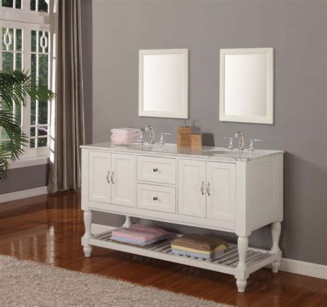 double sink bathroom vanities and linen cabinets sale