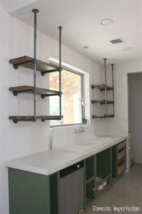 kitchen with shelves industrial kitchen shelving crowdbuild for