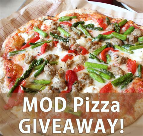 Pizza Giveaway - fun with 5 kids at mod pizza and a giveaway the sensible mom