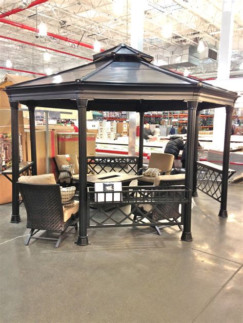 Patio Gazebo Costco Gazebo Available At Costco Outdoor Spaces Pinterest Gazebo And Costco