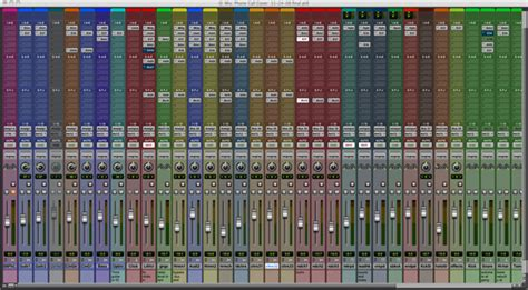 Top 20 New Features In Pro Tools 8 How To Use Them Pro Tools Mixing Template