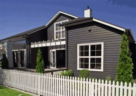 charcoal with white trims exterior colour scheme the coloured house really makes the