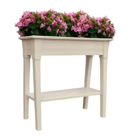 Home Depot Flower Planters manufacturing 36 in x 15 in desert clay deluxe resin garden planter 9303 23 3700 the