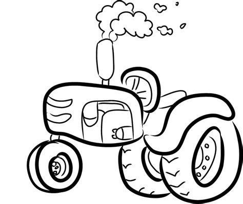 tractor coloring pages preschool coloring pages of a farmall tractor cartoon coloring point