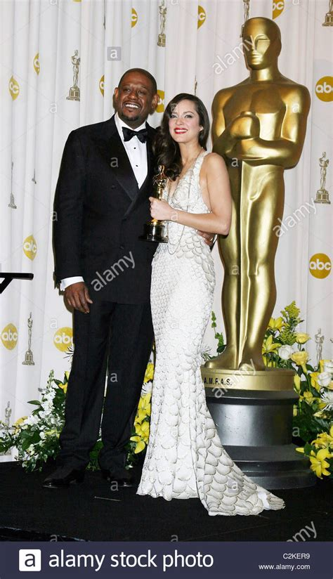 Forest Whitaker Has Oscar Wrapped Up by Marion Cotillard And Forest Whitaker The 80th Annual